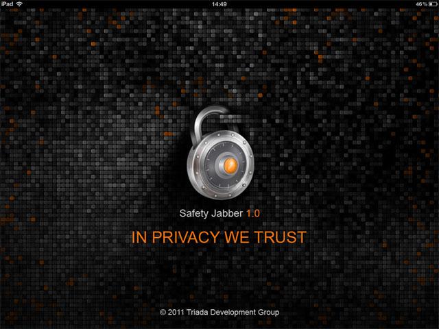 Защищённый jabber-клиент для iPhone