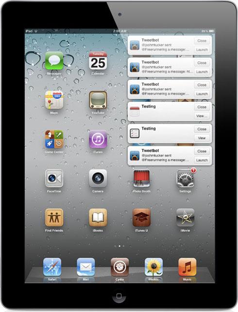 Повідомлення для iPad в стилі OS X Mountain Lion