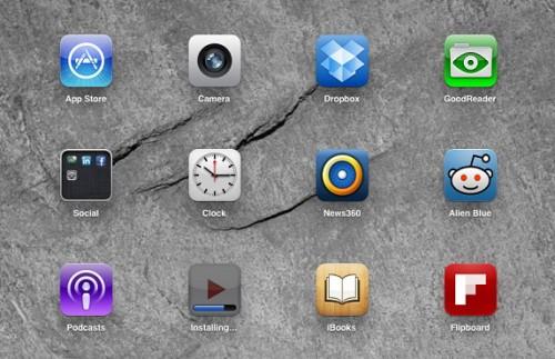 Установка приложения из App Store