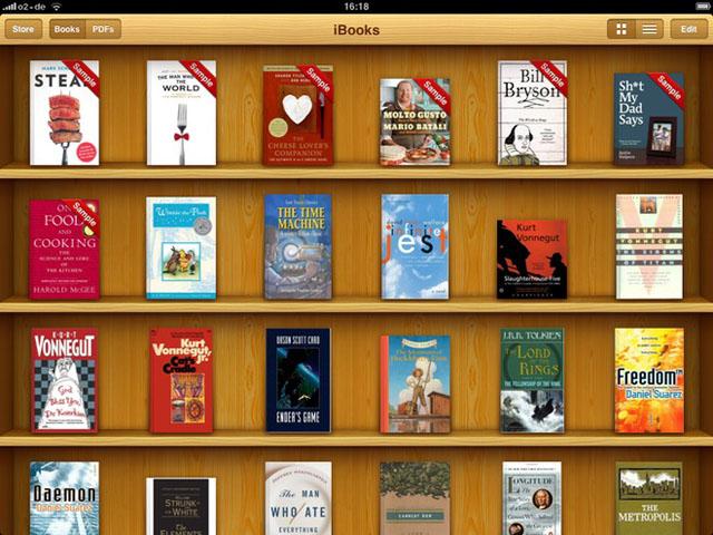 Обновление яблочного книжного сервиса
