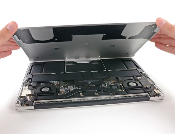 iFixit разобрали новый MacBook Pro 13 Retina