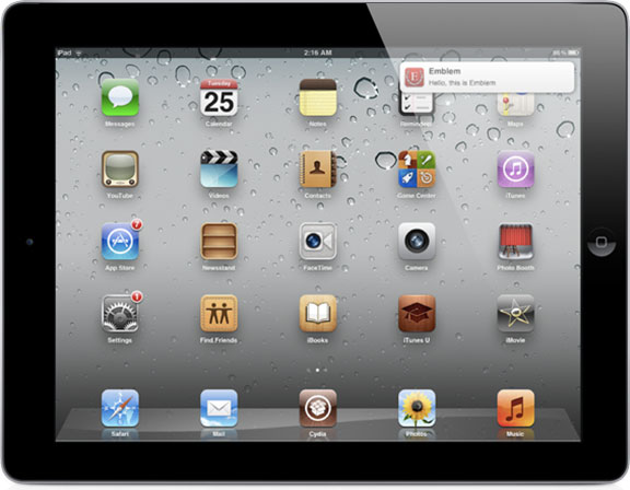 Зручні повідомлення для iPad