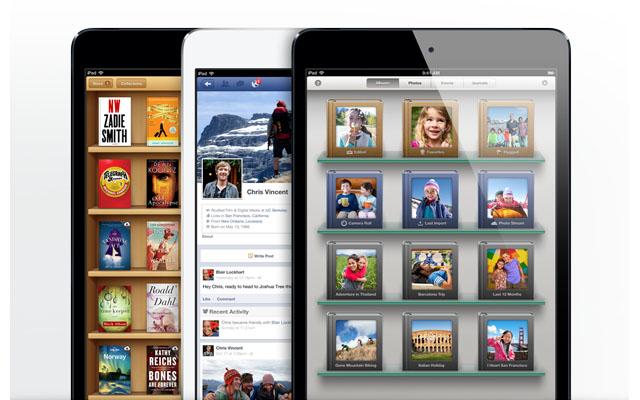 Работа приложений в iPad mini