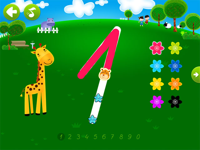 Увлекательные игры для детей на iPad