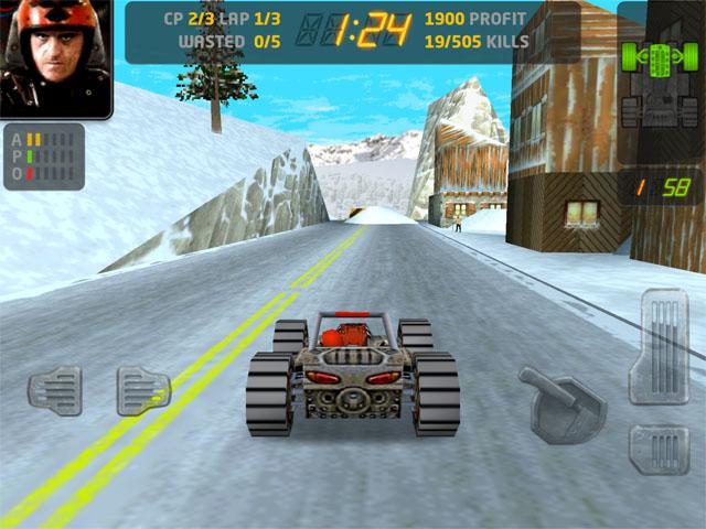 Жестокие гонки для iPad