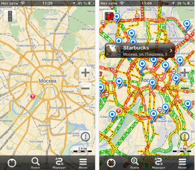 Карта Москвы Андроид