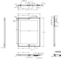 чертежи iPad mini и iPad 4