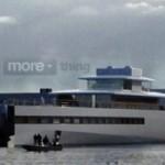 Яхта Стива Джобса спущена на воду в Нидерландах