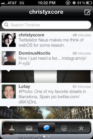 Удобный Twitter-клиент для iPhone