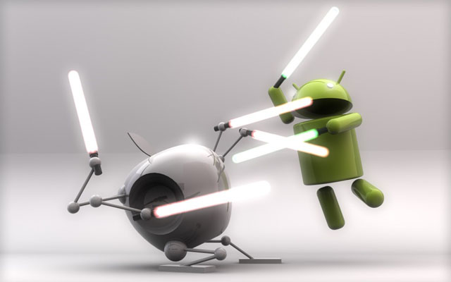 Apple наехала на Android