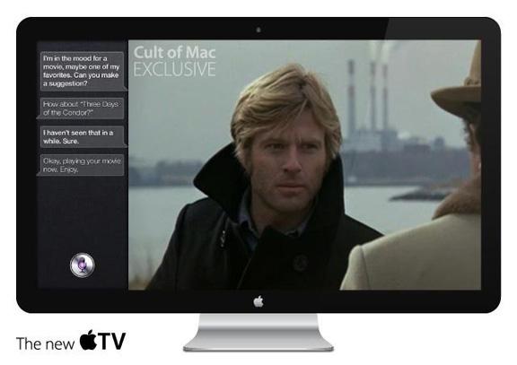 Первый яблочный телевизор