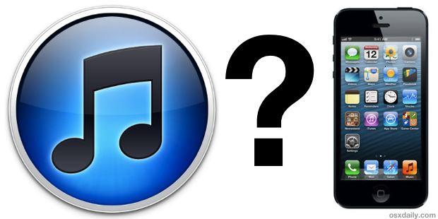 iTunes не видит iPhone