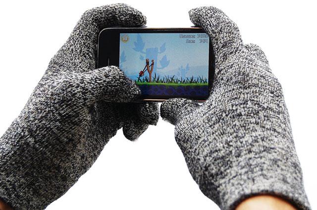 Теплые сенсорные перчатки для i-гаджетов