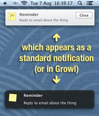 Уведомления для Mac