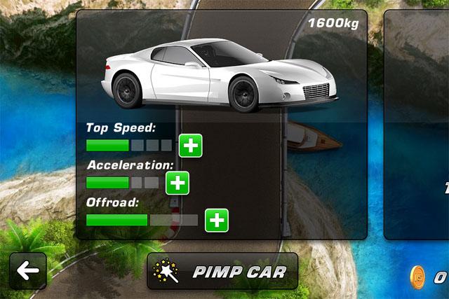 Аркадные гонки для iPad