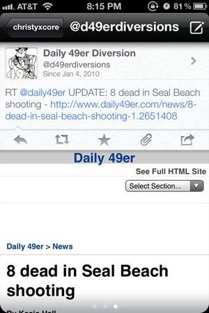 Функциональный Twitter-клиент для iPhone