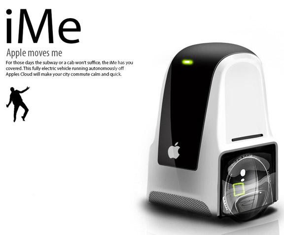 """iMe - автомобиль для """"одиночек"""""""