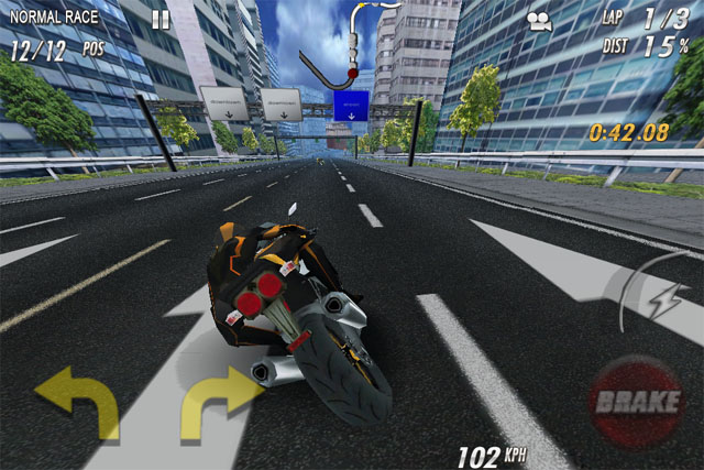 Гонки на мотоциклах для iPad