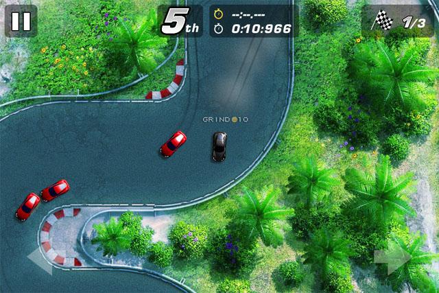 Лучшие аркадные гонки для iOS