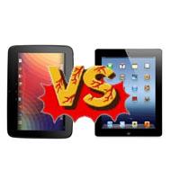 iPad 4 vs. Nexus 10