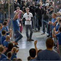 Видео старт продаж iPhone 5