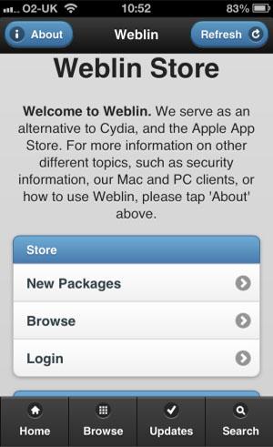 Магазин неофициальных приложений для iOS-устройств