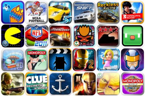 Игровые приложения в App Store
