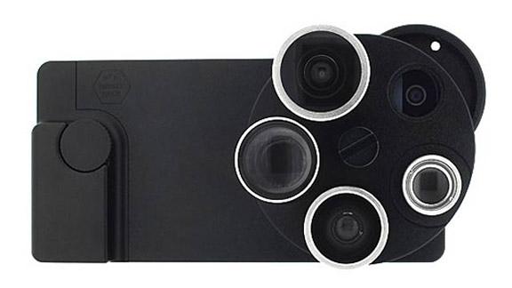 Чехол с объективами для iPhone 5