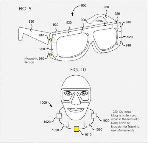 Sony запатентовала контактные линзы