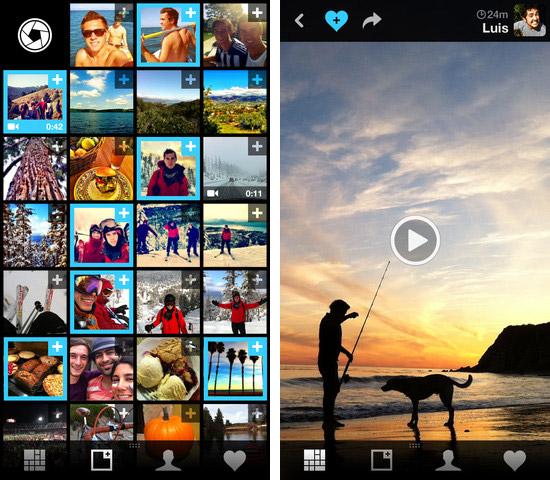 Обмен фото и видео на iPhone