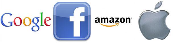 Google, Facebook и Amazon против Apple