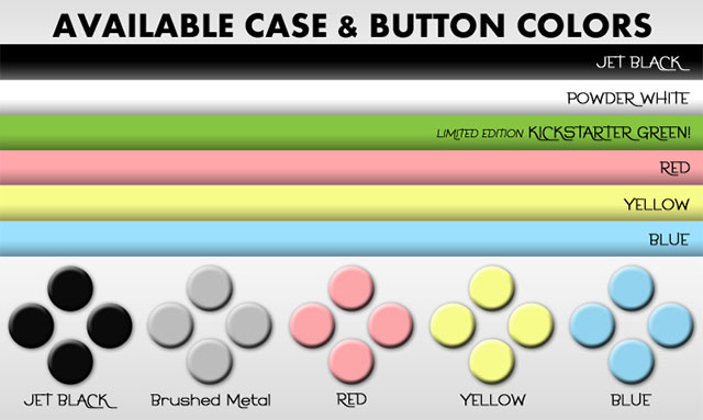 Разноцветные чехлы-геймпады для iPhone и iPod touch
