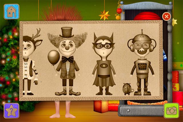 Праздничные детские костюмы на iPhone
