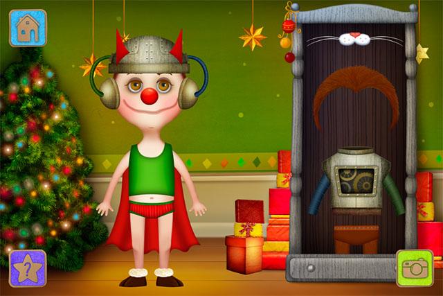 Праздничные детские костюмы на iPod touch