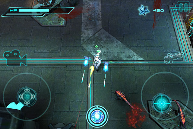 Dual-Stick Shooter for iPod touch
