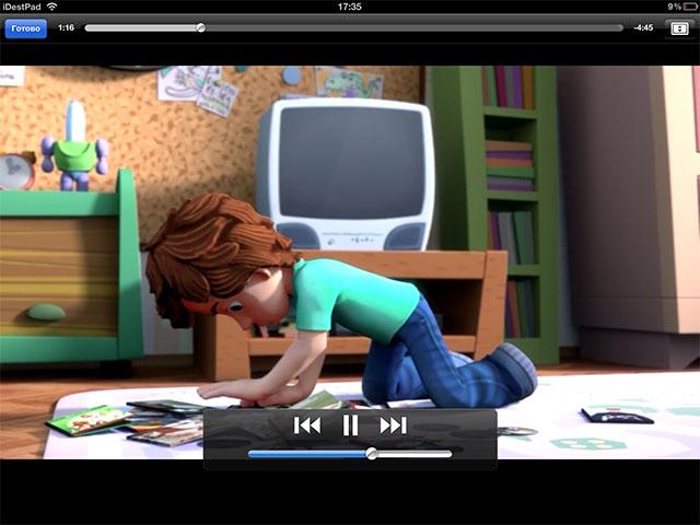 Детские мультфильмы для iPod touch