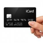 iCard — концепт яблочной кредитки от Credit Card Compare