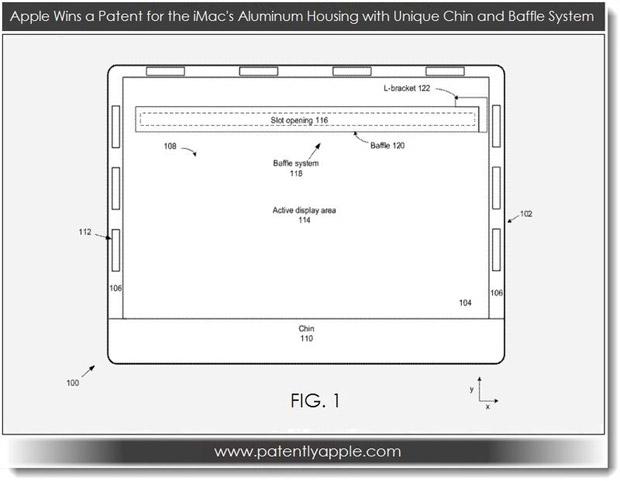 патент на корпус iMac