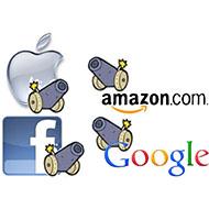 Apple vs Google vs Amazon vs Facebook