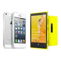 iPhone 5 против Nokia Lumia 920