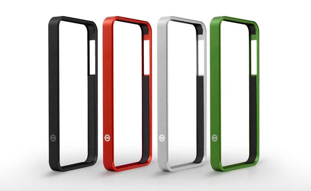 Разноцветные бамперы для iPhone 4/4S/5