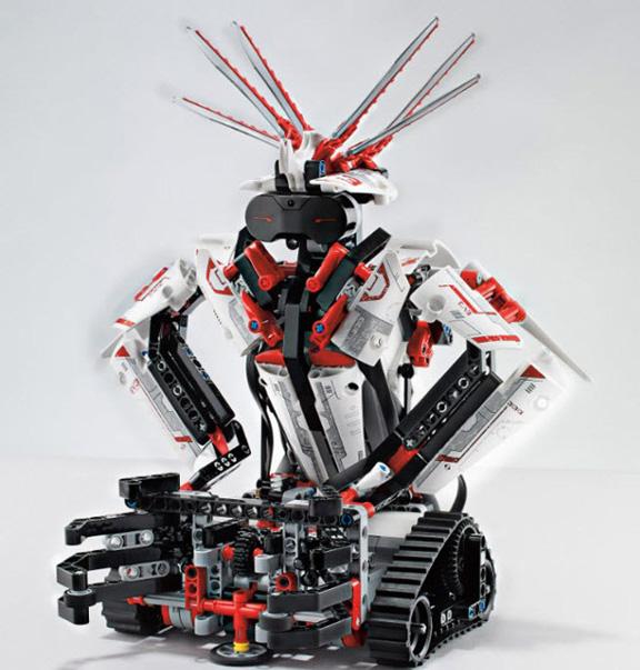 Программируемые роботы с управлением через iPhone от LEGO