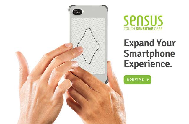Сенсорный чехол для iPhone