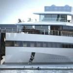 Снова яхта Стива Джобса. Теперь на Канарах