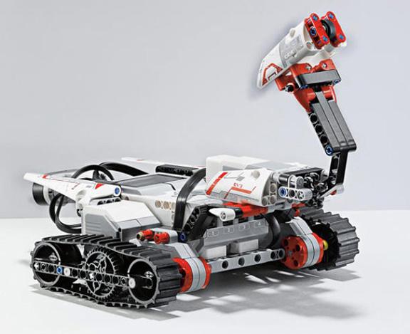 Программируемые роботы с управлением через iPad от LEGO