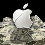После оглашения финансовых результатов акции Apple упали почти на 10%
