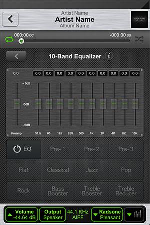 Продвинутый аудиоплеер для iPhone