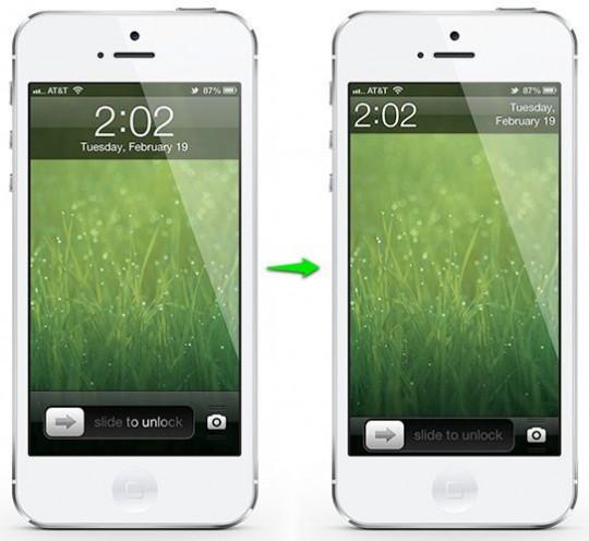 Меняем локскрин в iOS
