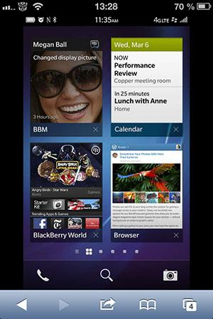 BlackBerry 10 на Android