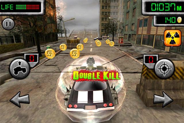 Зомбо-гонки для iPad